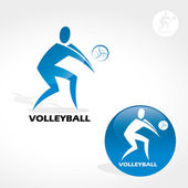 Volleyball — Stock Vector