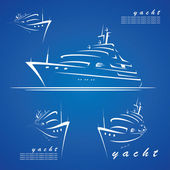 Cruise travel label — Cтоковый вектор