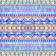 Seamless geometric pattern in aztec style. — Stock Photo