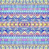Seamless geometric pattern in aztec style. — Stock Photo