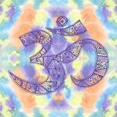 Ohm. Om Aum Symbol. — Stock Photo