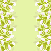 Flower background. — Stock Vector