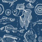 Aquarium. — Stock Vector