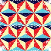 üçgen spektrum geometrik arka plan yaptı. — Stok Vektör