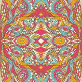 手描きの抽象的なシームレスなパターン — ストックベクタ