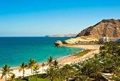 Oman coast landscape — Stock Photo