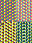 几何多边形 — 图库矢量图片