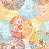 Elegant blommig seamless mönster. — Stockfoto