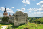 Old castle in Kamianets-Podilskyi — Stock Photo