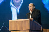 Moshe Bogie Ya'alon Israel  Defense Minister — Stock Photo