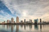 San Diego Skyline — Stock Photo