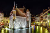HDR of Palais de l'Isle in Annecy, France — Stock Photo