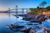 Newport Bridge Sunrise — Stock Photo