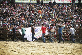 Cheong-do Bullfighting Festival in South Korea tradition — Stock Photo