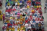 Jásající dav — Stock fotografie