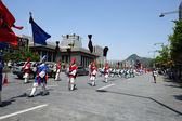 Traditional festival procession — Stock Photo