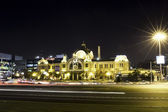 Beautiful night view of Seoul Station — ストック写真