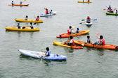 Sailing World Championships at Jeongok Seaport — Stock Photo