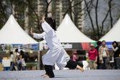 Traditionele martial arts in zuid-korea, taekgyeon — Stockfoto