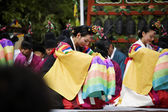 Traditional festivals in South Korea — Stock Photo