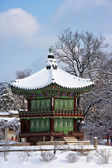 Palace in South Korea, Gyeongbokgung — Stock Photo