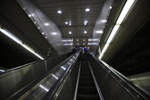 South Korea subway escalator — ストック写真