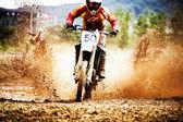 Motocross Racing — Stock Photo