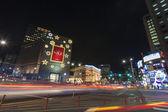 Notte bella vista di seoul — Foto Stock