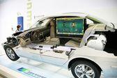 авто запчасти в сеуле международном автосалоне в южной корее — Стоковое фото
