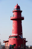 Red lighthouse — Stock Photo
