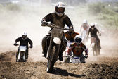 Motocross Racing — Stock Photo