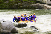 Dong River rafting in South Korea — Stock Photo
