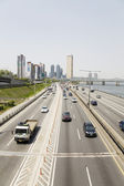 Road to the Han River in Seoul Korea — Stock Photo