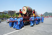 Traditional festival procession — Stock Photo