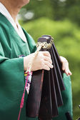 Traditional festivals in South Korea, Jongmyo Rituals, Jongmyojerye — Stock Photo