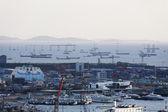 Incheon přístav — Stock fotografie