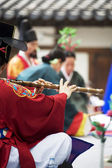 Traditional festivals in South Korea, Jongmyo Rituals, Jongmyojerye — Fotografia Stock
