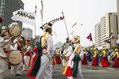 首尔节日游行 — 图库照片