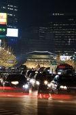 Beautiful night view of Seoul — Stock Photo