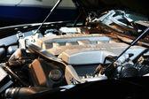Güney kore'de seul uluslararası motor show, oto yedek parça — Stok fotoğraf