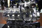 Salón del automóvil internacional de seúl en corea del sur, las piezas de automóvil — Foto de Stock