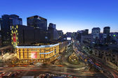 Beautiful night view of Seoul — Stock fotografie