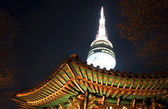 Namsan tower — Stock Photo