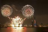 International Fireworks Festival — Stock Photo