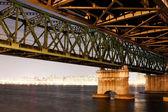 Han River Railway Bridge — Stock Photo