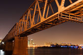 Han River Railway Bridge — Stock Photo