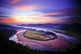 Hoeryongpo Village — Stock Photo