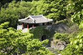 Namhansanseong castle gates — Stock Photo