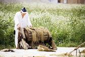 Doll of a farmer — Photo