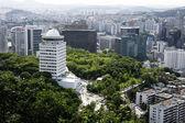 View of Seoul city — 图库照片